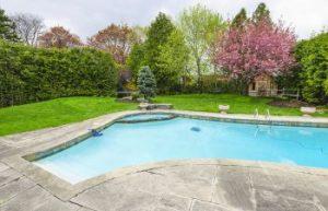 backyard pool, Sherrills Ford NC